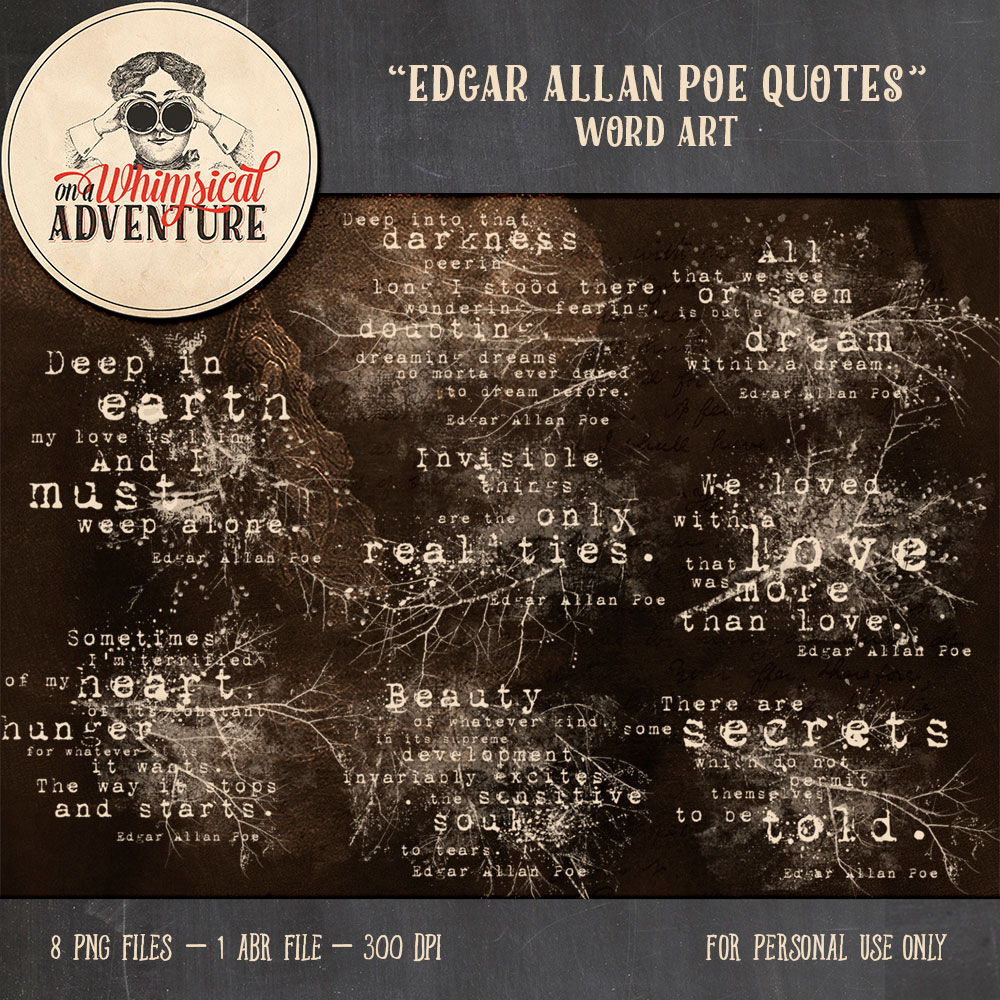 9053OAWAELWA-EdgarAllanPoe-QuotesPreviewDSS1