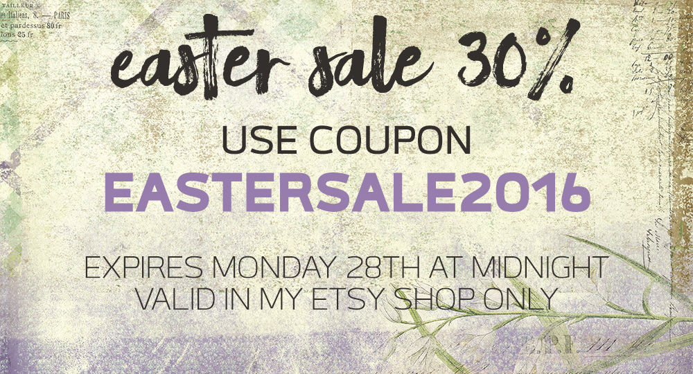 Easter Sale 2016