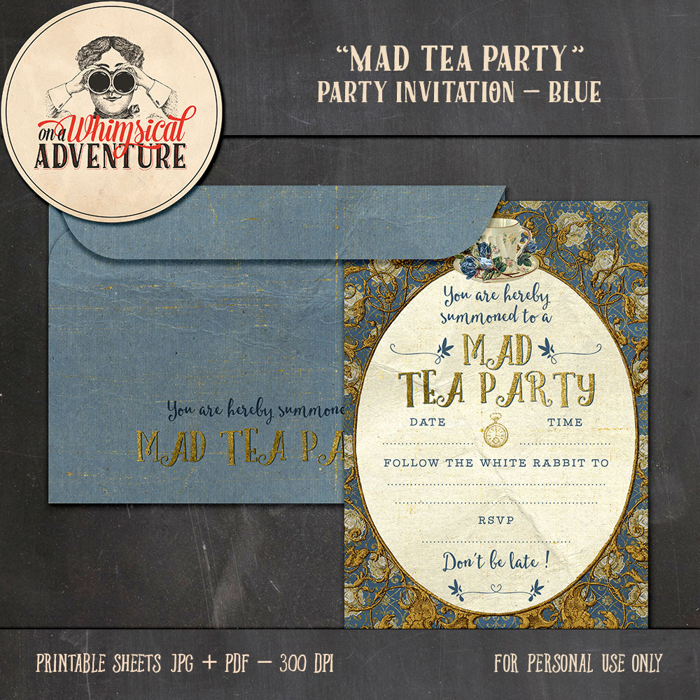 OAWA-BlueMadTeaParty-Invitation+Envelope-Preview1