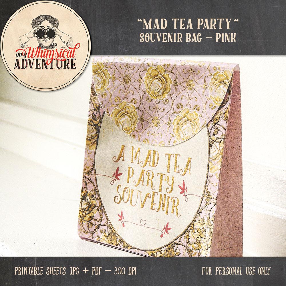 OAWA-MadTeaParty-PinkSouvenirBag1