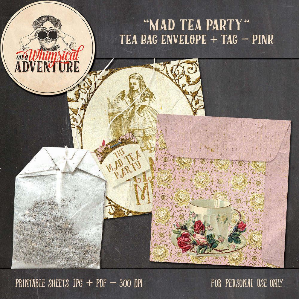 OAWA-MadTeaParty-PinkTeaBag1
