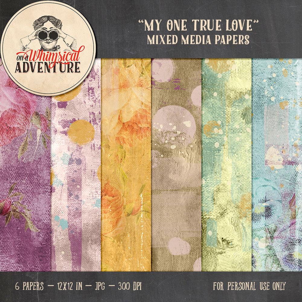 OAWA-MyOneTrueLove-MixedMediaPapers