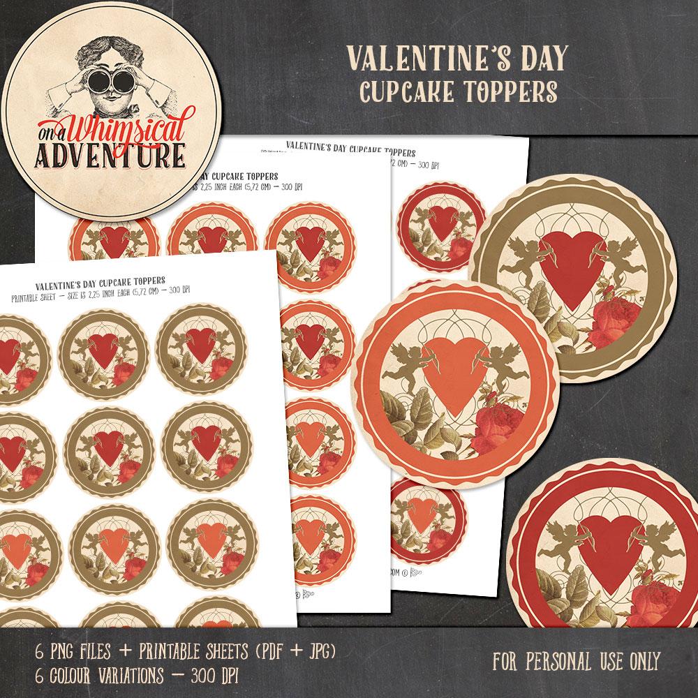 OAWA-ValentinesDayCupcakeToppers1