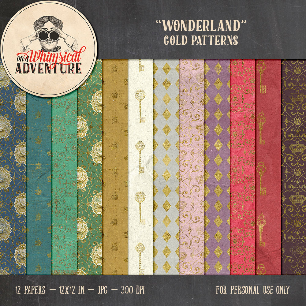 OAWA-Wonderland-GoldPatterns