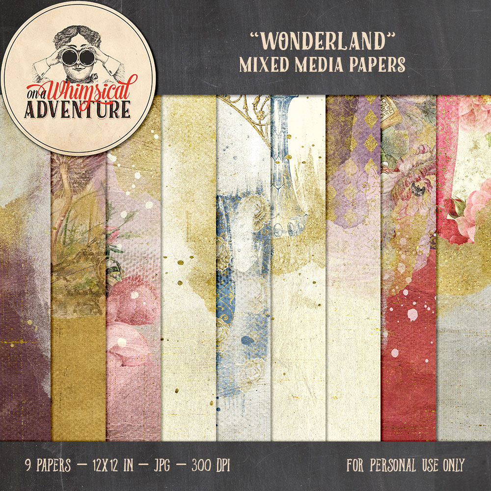 OAWA-Wonderland-MixedMediaPapers