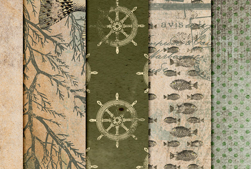 Sneak Peak Nautical papers
