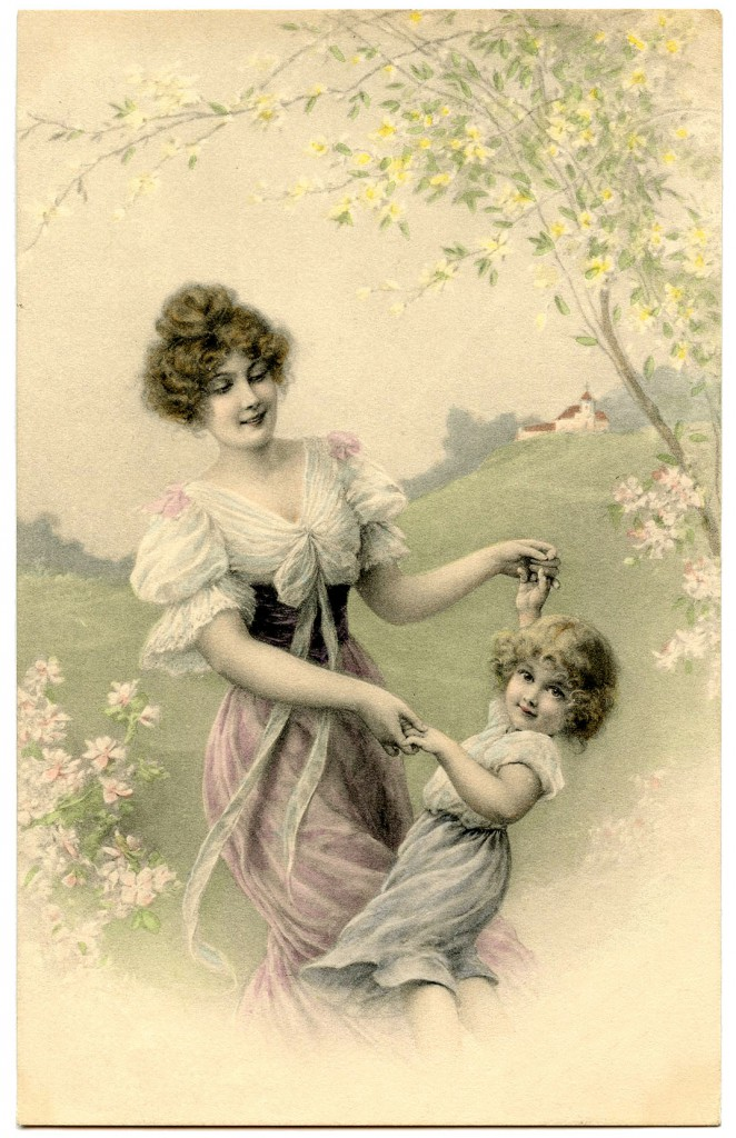 Vintage-Mother-Child-Image-GraphicsFairy