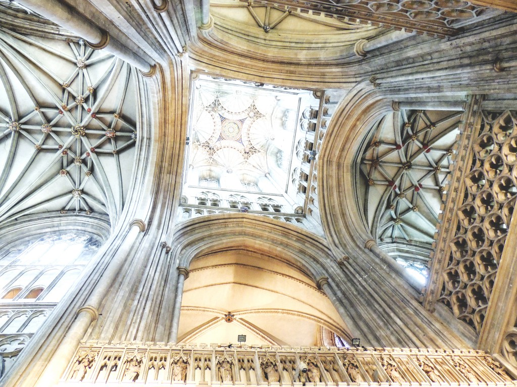 Canterbury cathedral - looking up