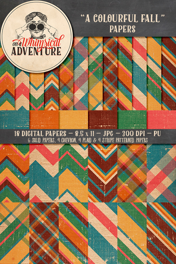 9040OAWAPAFA A Colourful Fall Papers