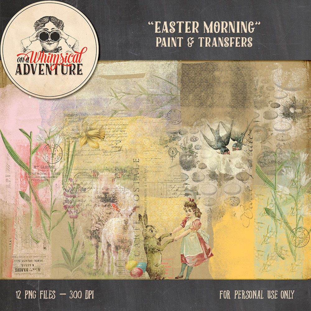 OAWA-EasterMorningPaintAndTransfers1