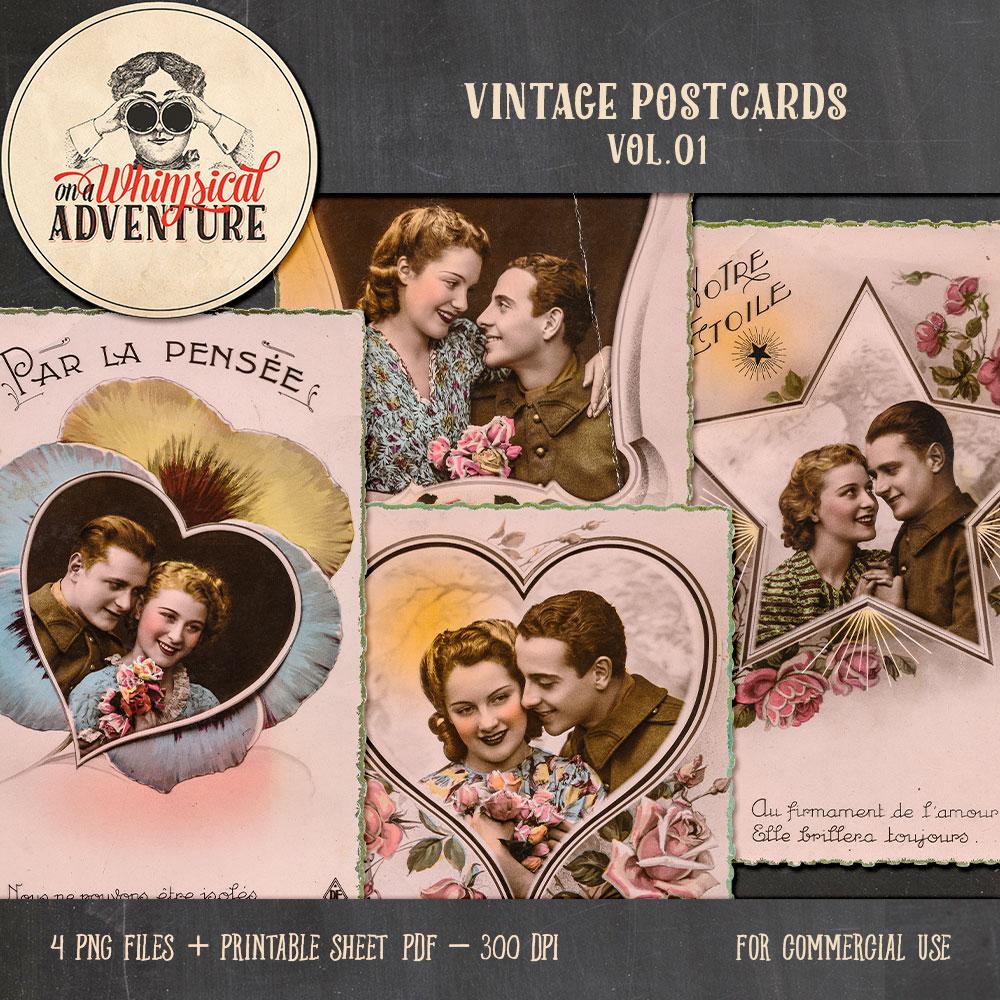 OAWA-CU-VintagePostcardsVol01