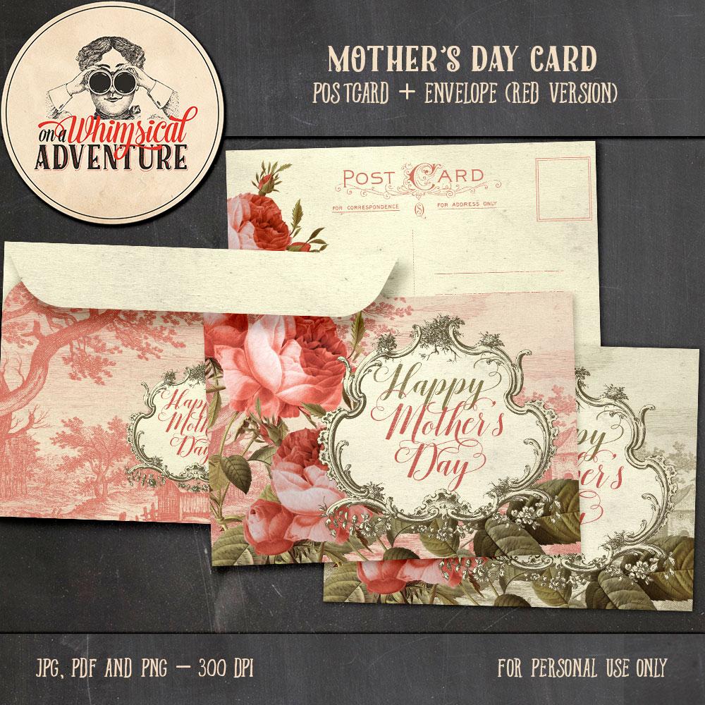 OAWA-MothersDayCard+EnvelopeRed