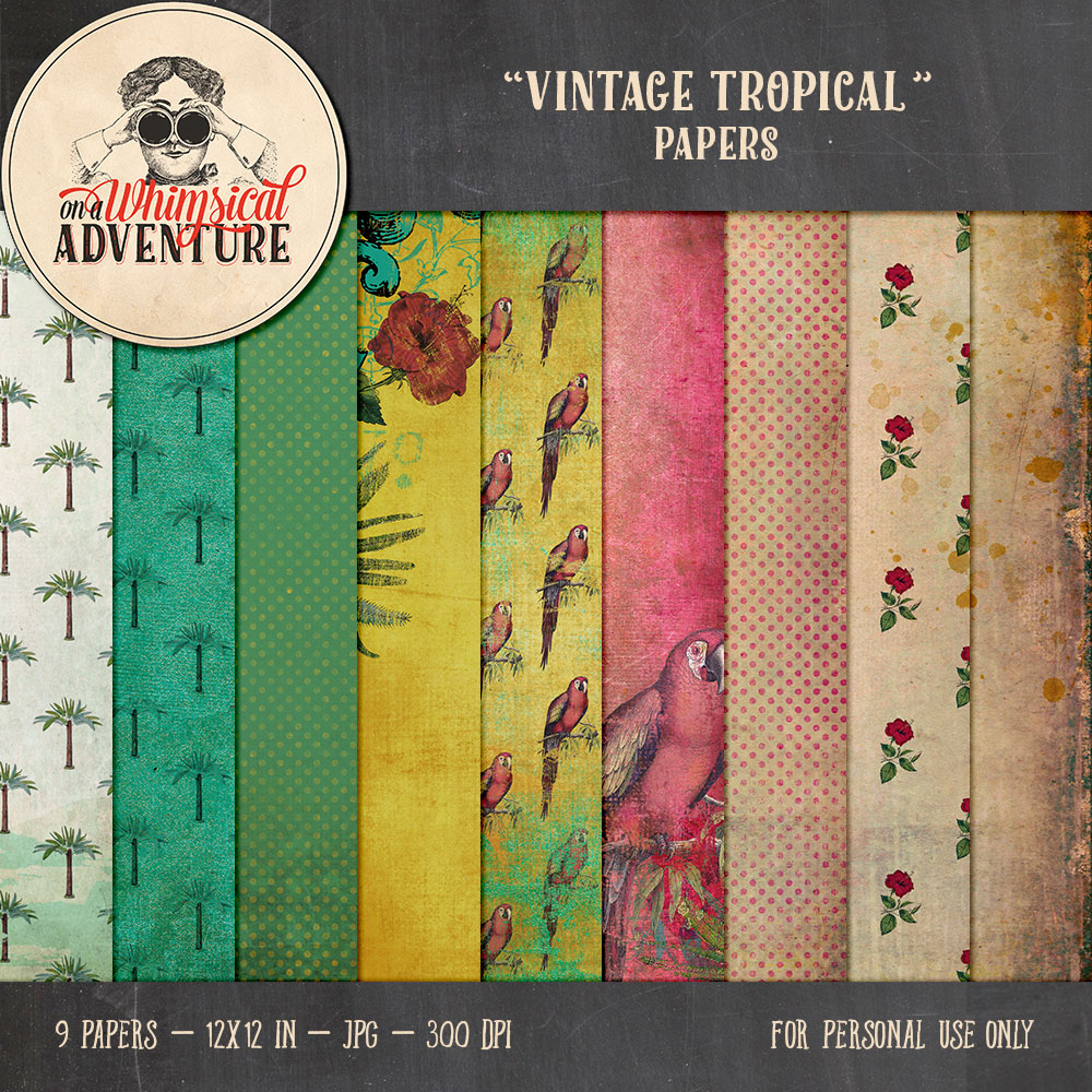 OAWA-VintageTropicalPapers-Preview1