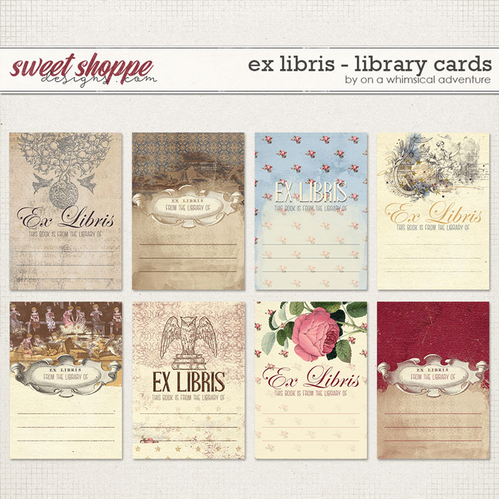 OAWA-ExLibrisLibraryCards