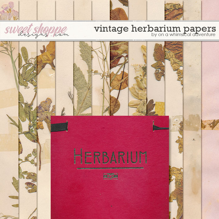 OAWA-VintageHerbarium-Papers