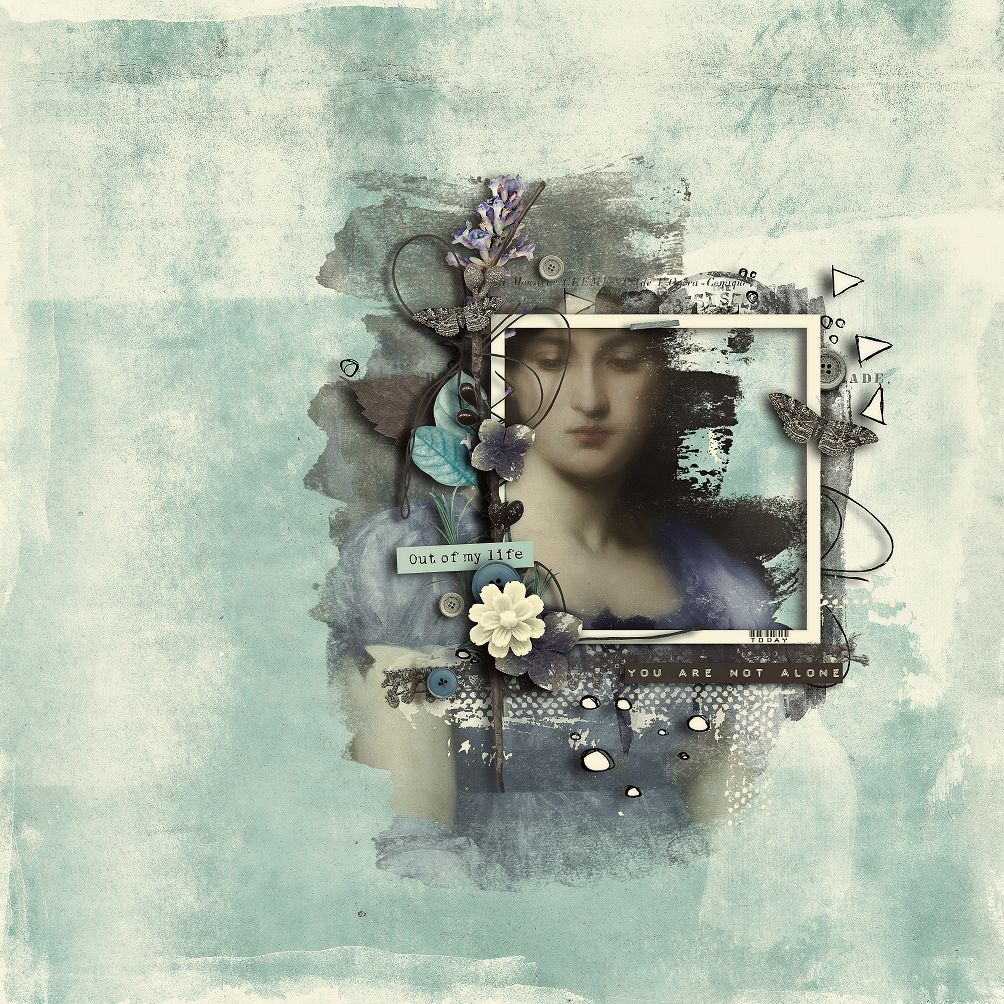 FEELING BLUE COLLAB WITH DAWN2_AngeB