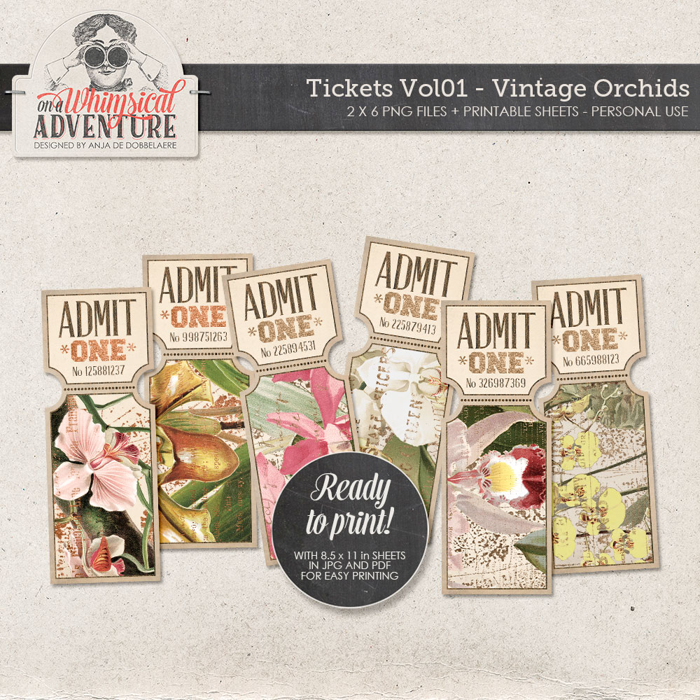 TicketsVol01-VintageOrchid